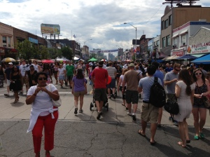 Taste of the Danforth 2013