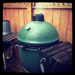 Green Egg and Smoke